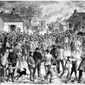 Strike on Lachine Canal, Montréal 1877