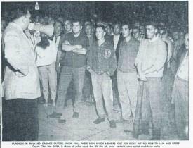 Sudbury Star, August 28, 1961 - Siege of Mine Mill Hall