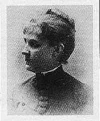 Louise Blanchard Bethune, born in Upstate New York in 1856