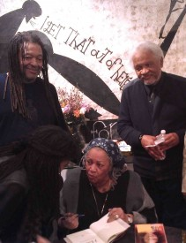 Quincy Troupe, Toni Morrison and Ishmael Reed