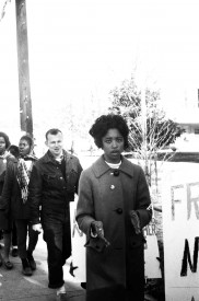 Over 500 people picketed the Sunflower County Courthouse on Jan. 4, 1965.
