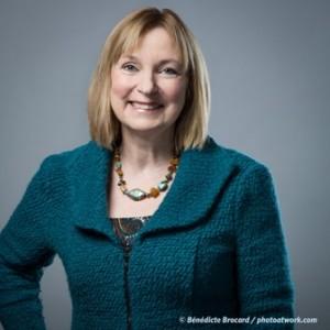 Marie-France Raynault, co-author of Scandinavian Common Sense